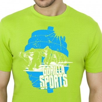 Gorilla Sports Evolution T-Shirt L VERT