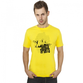 Gorilla Sports Evolution T-Shirt JAUNE