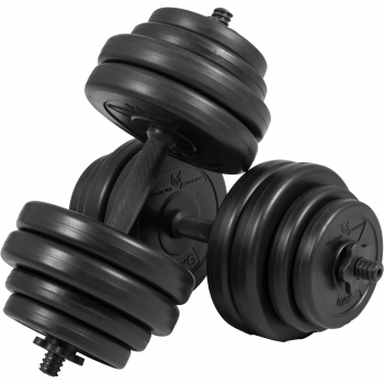 Gyronetics E-Series barres courtes 30 kg (paire de 2 x 15kg) GN001