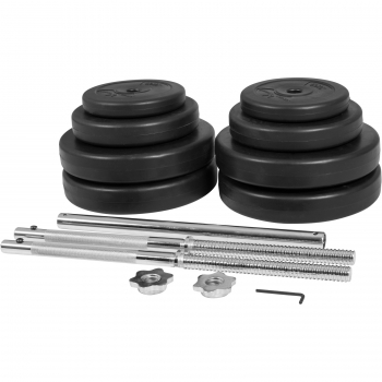 Gyronetics E-Series set barre longue 60 kg GN003