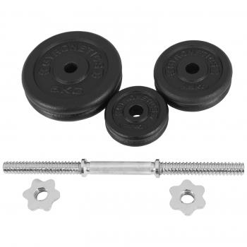 Gyronetics E-Series barre courte 20 kg en fonte GN016