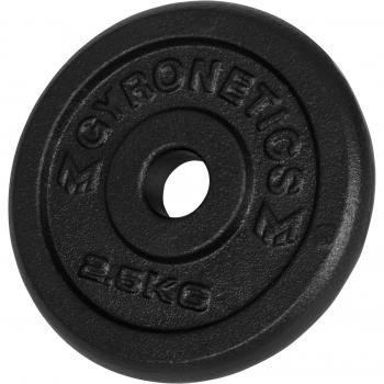 Gyronetics E-Series Set d´haltères en fonte 30kg GN017