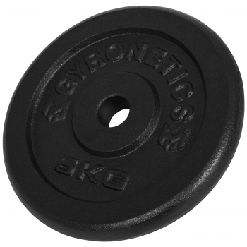 Gyronetics E-Series Curl-set 23,5 kg en fonte GN018