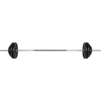 Gyronetics E-Series Barre longue 165cm et poids en fonte 60kg GN021