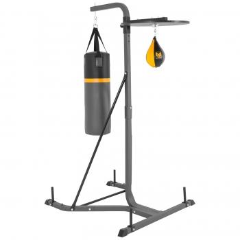 Gyronetics E-Series Plateforme station de boxe pour sac de frappe et poire de vitesse GN026