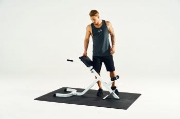 Appareil de musculation pour le dos - hyper extension incliné à 45° GS010