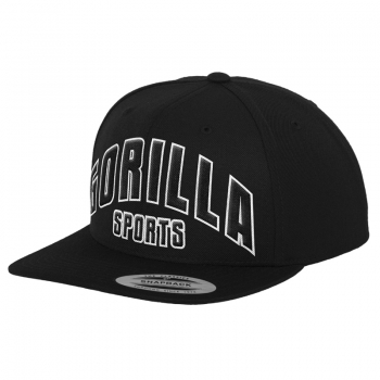 The Classic Gorilla Sports Snapback Cap - Casquette Gorilla Sports NOIR