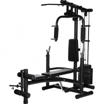 Home Gym Multifonctions Noir Gorilla Sports Pack Complet