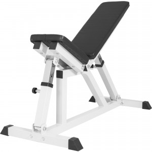 Banc de musculation multipositions BLANC GS004