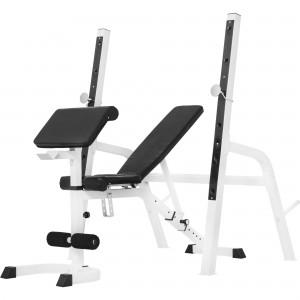 Banc de musculation avec repose-barre séparé GS022