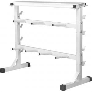 Rack de rangement pour poids et haltères 30/31mm - Blanc GS019