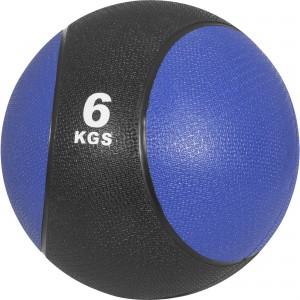 Médecine ball 6kg bleu/noir