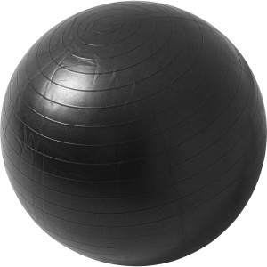 Swiss ball - Ballon de gym NOIR / 55cm