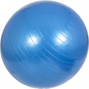 Swiss ball - Ballon de gym 75cm bleu