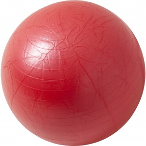 Swiss ball - Ballon de gym ROUGE / 65cm
