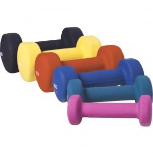 1 KG (2x0,5) à 10kg (2x5,0) Haltères fitness en vinyle