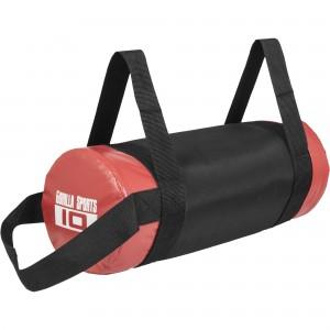 Fitness bag noir/rouge - Sac lesté 10kg
