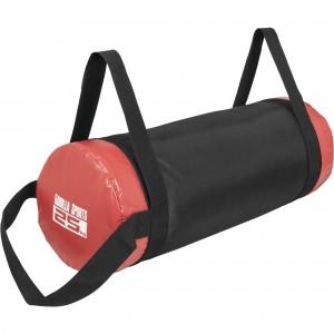 Fitness bag noir/rouge - Sac lesté 25kg