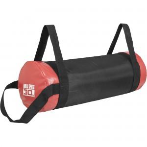 Fitness bag noir/rouge - Sac lesté 30kg