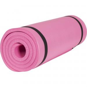 Tapis en mousse pour le sport à domicile PINK FLUO