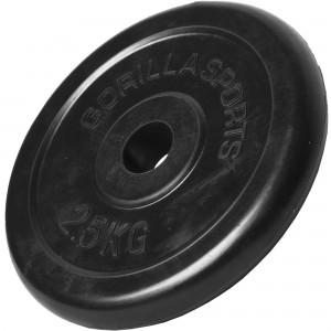 Poids disque en caoutchouc de 2,5 kg