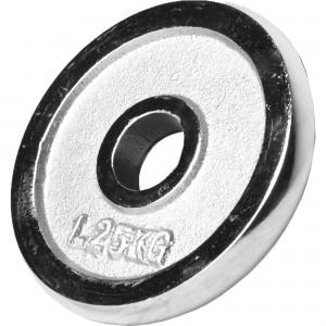Poids disque chromé 1,25 kg