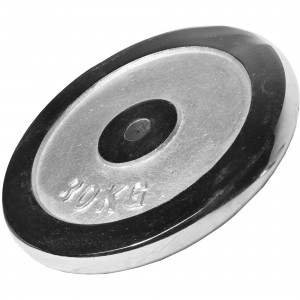 Poids disque chromé 30 kg