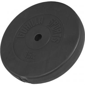 1 x Poids disque en plastique de 15 kg