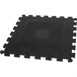 Tapis puzzle de protection 1,2cm caoutchouc  4 éléments