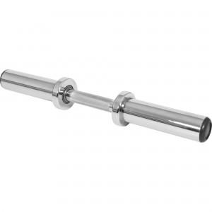 Barre courte 50mm avec stop disques 51cm