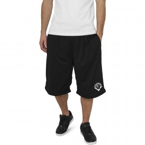 Gorilla Sports Mesh Shorts NOIR L