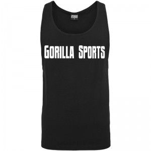 Gorilla Sports Tank Top noir – GORILLA SPORTS - L