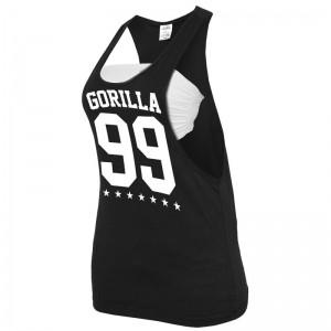 Gorilla Sports Ladies tank Noir/blanc – GORILLA 99 - XS à XL