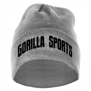 Gorilla Sports bonnet one size GRIS