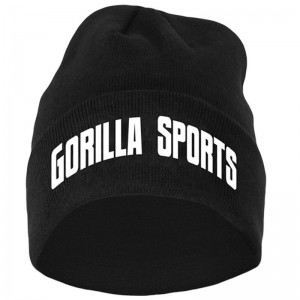 Gorilla Sports bonnet one size NOIR