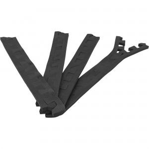 8 x Embouts de finition pour Tapis de protection 1,2cm en mousse EVA Noir