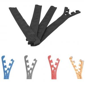 8 x Embouts de finition pour Tapis de protection 1,2cm en mousse EVA coloris Noir, Bleu, Gris ou Rouge