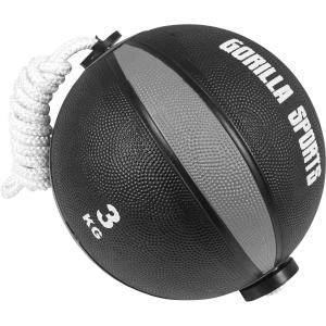 Ballon d'exercice avec corde de- tornado ball en 3 KG