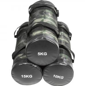 Sandbag / Fitness Bag Coloris Camouflage de 5kg, 10kg et 15Kg