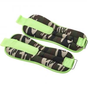 Paire bandes lestées flashy camouflage de 1Kg à 4kg