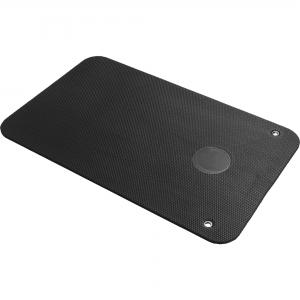 Tapis de Yoga Noir à Œillets 101 x 60 x 1cm