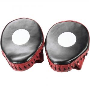Paire de cibles de boxe, Pattes d'Ours Gorilla Sports Noir et Rouge
