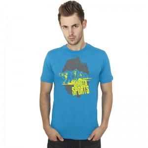 Gorilla Sports Evolution T-Shirt BLEU