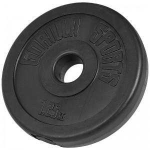 Poids disque en plastique de 1,25 kg