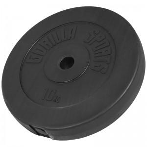 Poids disque en plastique de 10 kg