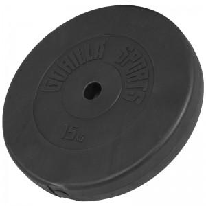 Poids disque en plastique de 15 kg