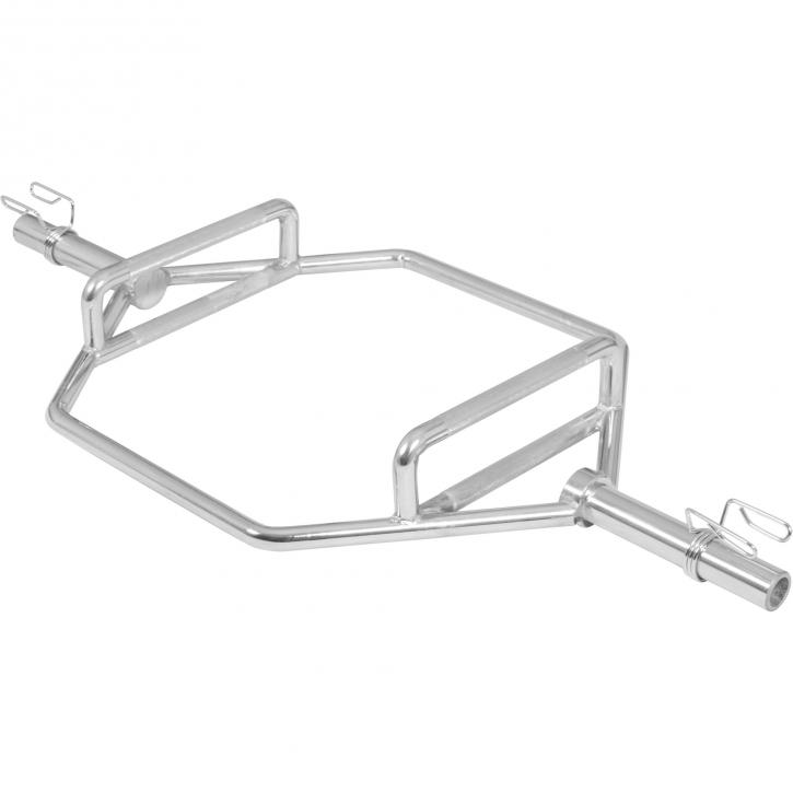 Trap / Shrug Barre hexagonal Olympique 50mm