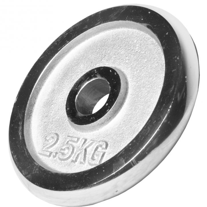 Poids disque chromé 2,5 kg
