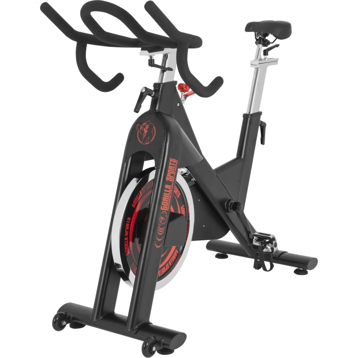 v lo d 39 appartement gorilla sports indoor cycling bike. Black Bedroom Furniture Sets. Home Design Ideas