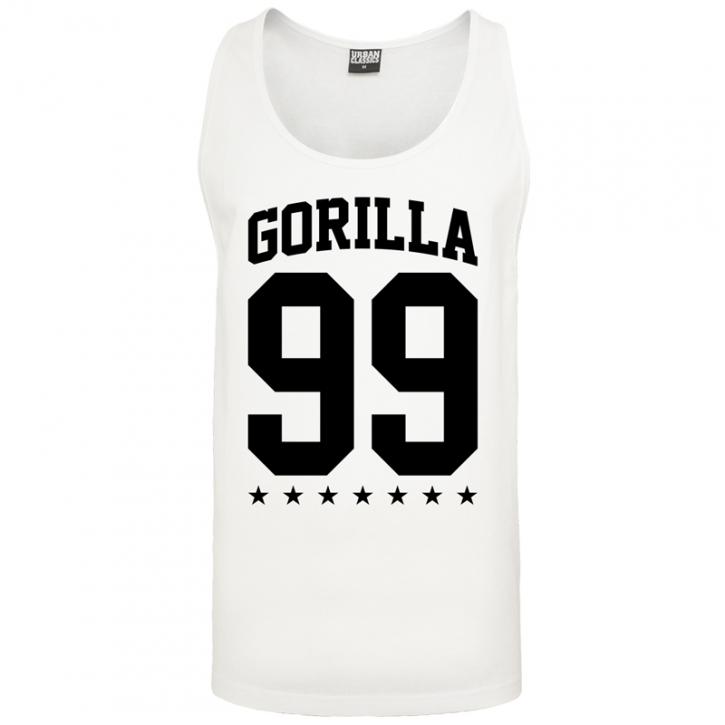 Gorilla Sports tank top blanc – GORILLA 99 - L